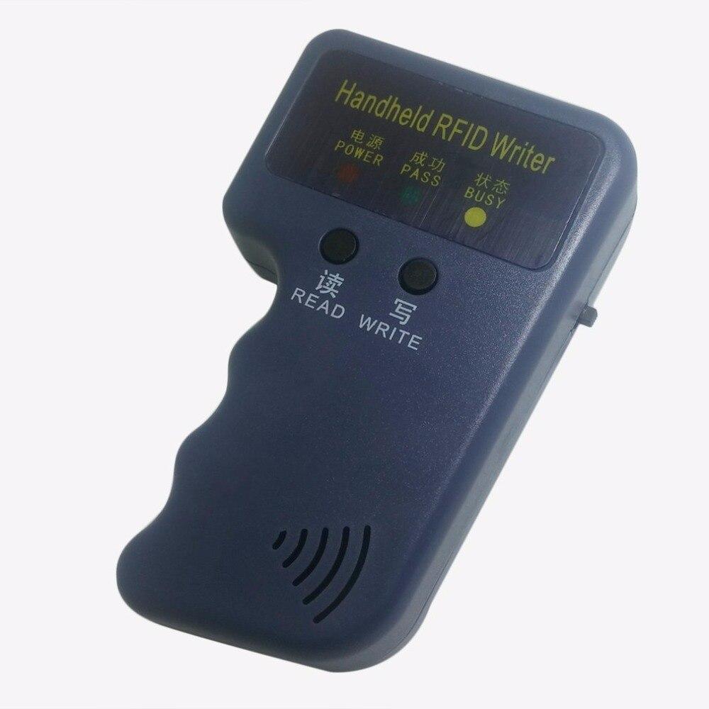LESHP Handheld 125KHz EM4100 RFID Copier Writer Duplicator Programmer Reader 20000 times Writer for EM4305 T5577 CET5200 EN4305