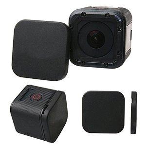 Image 2 - Capa de lente para gopro hero 5/4/6/7 4S, proteção traseira de lente com logotipo do gopro para go pro hero 4/5