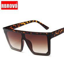 RBROVO 2019 Vintage Square Sunglasses Women Luxury Candy Col