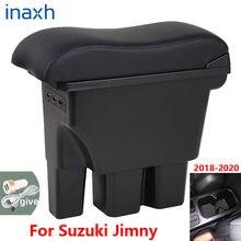 Retrofit caixa de carro para apoio de braço, acessório interior de carro, para suzuki jiny 2020 2019 2018 2017 jb74 3usb