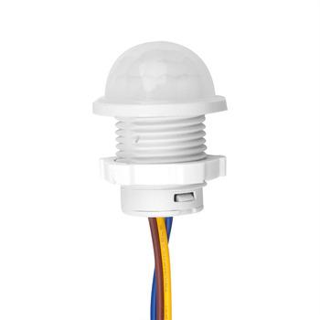 Przełącznik światła PIR czujnik inteligentny przełącznik LED 110V 220V czujnik ruchu na podczerwień PIR przełącznik Auto On Off tanie i dobre opinie kebidumei Automatic PIR Motion Sensor Z tworzywa sztucznego Przełączniki 1 Year PIR Infrared Motion Sensor Switch Przełącznik czujnika