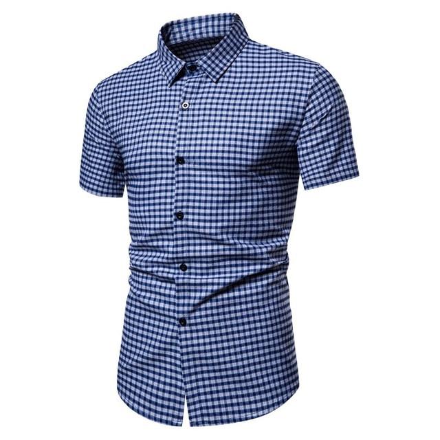 Loose Button Down Shirt 1