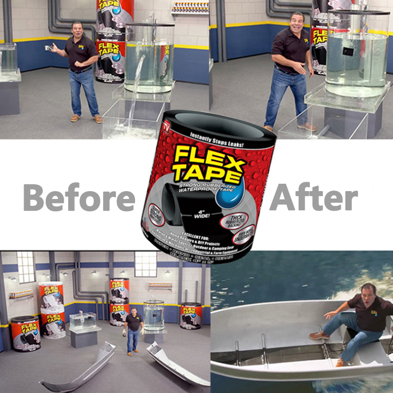 2020 FlEX TAPE High Temperature Resistant Waterproof Tape For Leak Repair Strong Adhesive Tape Water Pipe Bucket Hood Tape