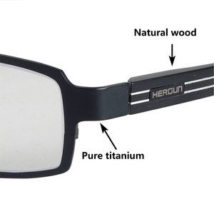 Image 3 - Pure titanium blue light blocking reading glasses men 0~+6.0