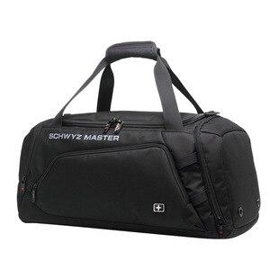 Image 2 - Швейцарская сумка для мужчин, дорожная сумка для багажа, сумка Оксфорд, дорожная сумка, водонепроницаемая сумка для выходных, Большая вместительная сумка на плечо для мужчин