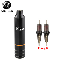 New Tattoo Machine  Pen Type Light Weight Suitable For Mostly Cartridge Needle Haw*k Needles Free Gift