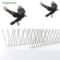 Offre spéciale chaude 6M en plastique oiseau et Pigeon pointes Anti oiseau Anti Pigeon pic pour se débarrasser des Pigeons et effrayer les oiseaux lutte antiparasitaire