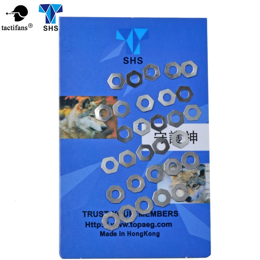 SHS 5pcs/lot Gear Set Gap Adjustment Shims For AEG Gearbox Any Version Gel Blaster Hunting Shooting Paintball Accessories