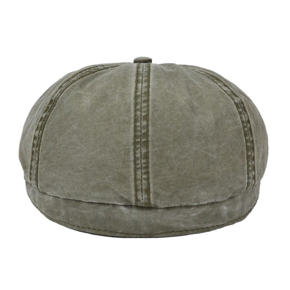 Men Vintage Painter Beret Hats summer Octagonal Newsboy Cap Cabbie Ivy Flat Hat