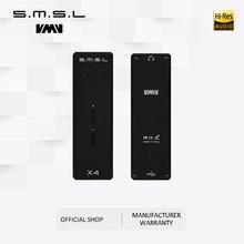 SMSL X4 TAS1028B WM8524G MR690PA USB DAC Portable numérique OTG amplificateur casque entrée USB 3.5mm sortie 16-300ohm trois couleurs