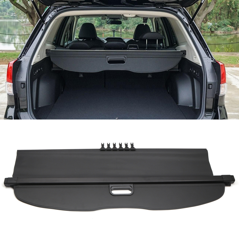 New !!! For Subaru Forester 2019 2020 Interior Retractable Rear Trunk Cargo Luggage Security Shade Cover Black