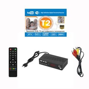 Image 5 - HD 1080p موالف التلفزيون Dvb T2 Vga Dvb t2 التلفزيون لمراقبة محول USB2.0 موالف استقبال الأقمار الصناعية فك Dvbt2 دليل الروسية