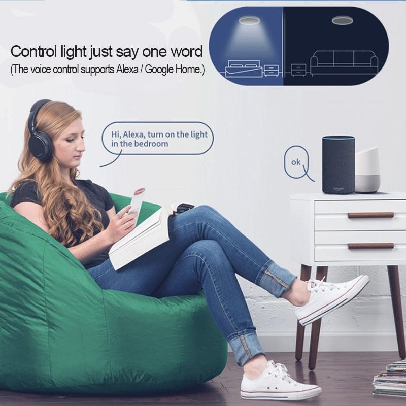 Yeelight jiaoyue 650 led inteligente luz de teto wifi bluetooth controle app com rgb lâmpada ambiente 50 w apoio alexa google casa - 4