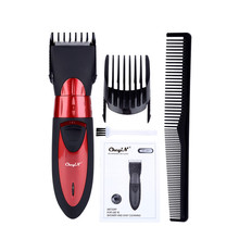 220 240V Cortadora de cabello afeitadora de barba, recortadora de pelo corporal recargable inalámbrico Cortapelos lavable eléctrico para niños y adultos