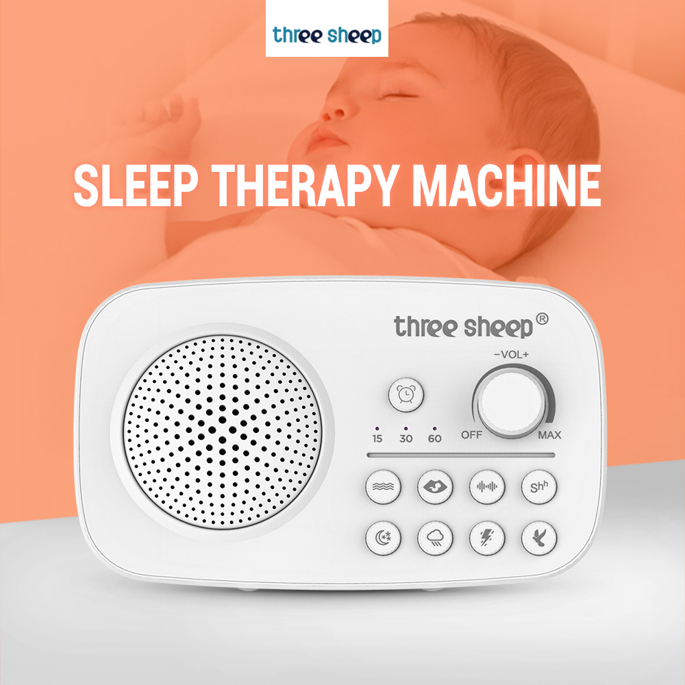 Threesheep K2 1803 1800mAh Sleep Therapy Machine With 8 Natural Soothing Sounds 3 Timing Options To Help You Relax Fall Asleep