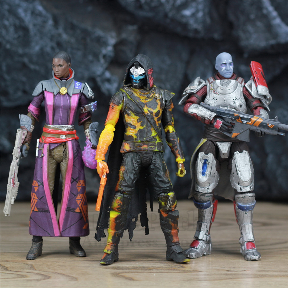 """Image 3 - McFarlane Toys DESTINY 7"""" Iron Banner Hunter Titan King's Fall Warlock Action Figure Model Million Blacksmith Shader Bungie Game-in Action & Toy Figures from Toys & Hobbies"""
