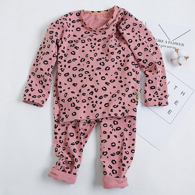 Leopard Print Pajama Set 5
