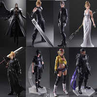 Partita finale Fantasy Gioca Arts Kai Action Figure Cloud Strife Sephiroth Noctis Lucis Squall Leonhart Cindy Aurum Figure Toy Doll