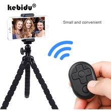 Kebidu беспроводной Bluetooth пульт дистанционного управления спуска затвора для камеры телефона селфи палка ТВ