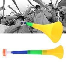 Football Stadium Cheer Fan Horns Soccer Ball Vuvuzela Cheerleading Kid Trumpet