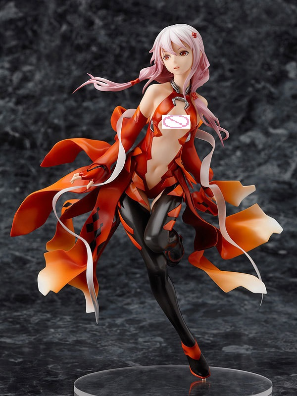 Game Anime Guilty Crown Inori Yuzuriha Sexy Girls 1/8 Scale Painted PVC Action Figure Collectible Model Brinquedos Tony Toys New