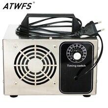 ATWFS مولد أوزون 220 فولت 48 جرام/36 جرام/28 جرام/24 جرام/20 جرام مولد الأوزون لتنقية الهواء منظف المنزل معقم العلاج ozuno إزالة الفورمالديهايد