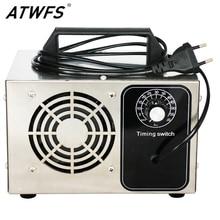 ATWFS مولد أوزون 220 فولت 60 جرام/48 جرام/36 جرام/28 جرام/24 جرام مولد الأوزون لتنقية الهواء منظف المنزل معقم العلاج ozuno إزالة الفورمالديهايد