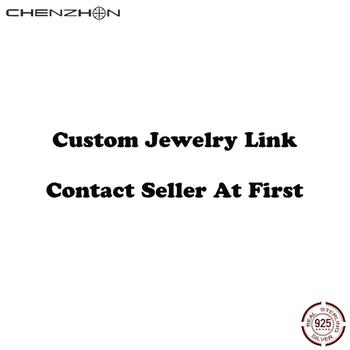 CHENZHON Custom Jewelry Accept Pendant Necklaces Chains Bracelets Rings Custom If You Have Your Idea Contact Us