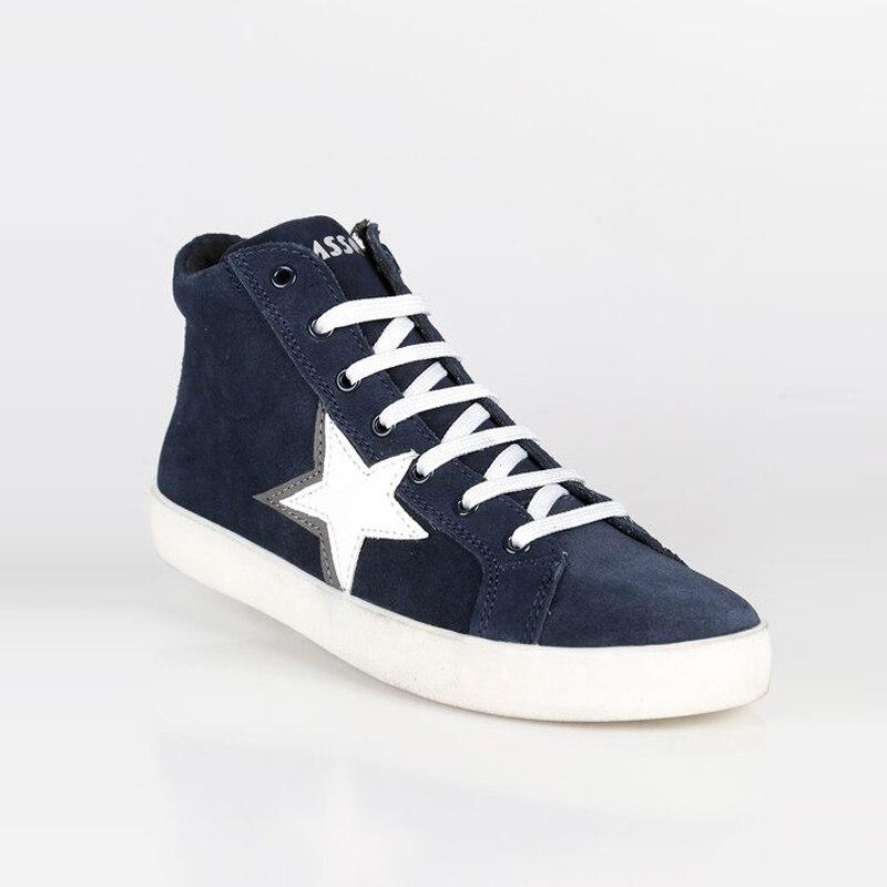 Asso Sneakers alte con stella da bimba|  - title=
