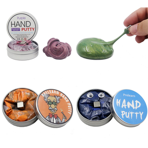 Hot Sale Slime DIY Magnetic Polymer Clay Putty Intelligent Rubber Magnet Plasticine Mud Magic Hand Educational Toys Kids Gifts