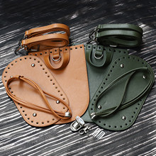 Bag Bottom Flap Cover Diy Handmade Backpack Bag Accessories Bags Leather Handles Shoulder Straps For DIY Women Backpack