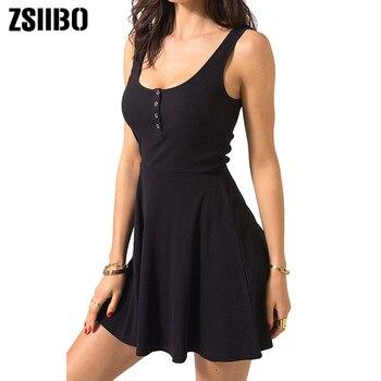 Summer Clothes Bodycon Mini Tank Dress 1