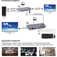 Cable Extender Keyboard-Extension Usb-Mouse 4k Hdmi Cord CAT RJ45 TV PC UTP 5E 6E 6-6a