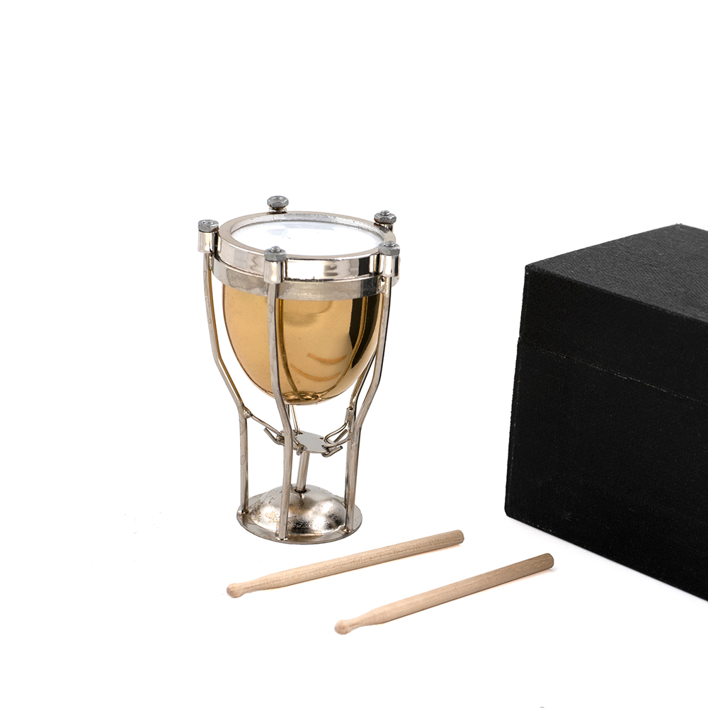 6.5cm Miniatur Pauke Mini Musikinstrument