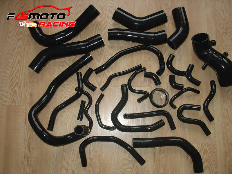 For TOYOTA SUPRA MA70 MK3 7MGTE Turbo 3.0L SILICONE ANCILARRY Hose Dark Green