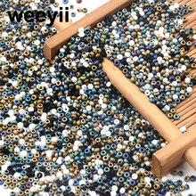 Circa 1000 pezzi 2MM perline di semi matellici opachi perline di vetro ceco per gioielli che fanno accessori per orecchini collana braccialetto fai da te