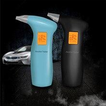 новый цифровой дыхание алкоголь тестер алкотестер с ЖК-дисплеем с 20 мундштуками 712T горячая продажа прямая доставка