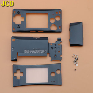 Image 5 - JCD 4 in 1 Metal Housing Shell Case for Nintend GameBoy Micro GBM Front Back Cover Faceplate Battery Holder w/ Screw