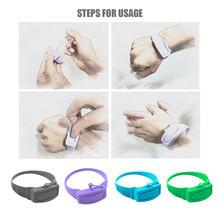 Дезинфицирующее средство для рук подупаковка силиконовый браслет