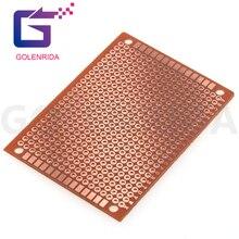 Experiment Circuit-Board Matrix Prototype-Paper Copper Pcb Universal 5x7cm 5pcs New 5--7