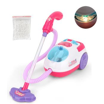 Symulacja dzieci z narzędzie do czyszczenia próżniowego dziewczyny sprzątanie zabawki urządzenia higieniczne środki czyszczące meble udawaj zabawki tanie i dobre opinie away from fire TOY0887 8 ~ 13 Lat 5-7 lat Zawodów
