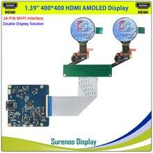 Screen-Panel Lcd-Module Circle OLED Round Real-Amoled-Display MIPI 400--400-Hdmi Interface