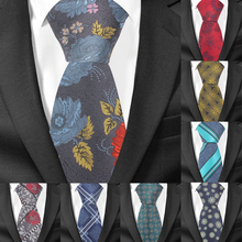New Floral Ties For Men Women Fashion Skinny Striped Neck Tie For Wedding Casual Mens Necktie Classic Suits Slim Neck Tie Cravat