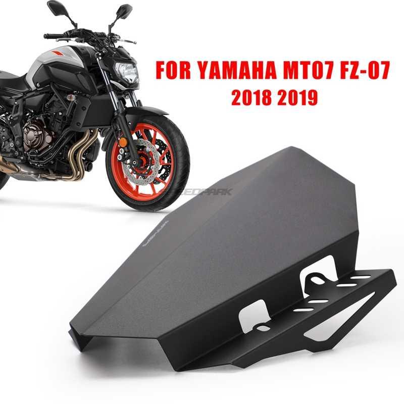 CNC Sepeda Motor Kaca Depan Kaca Depan Kit Deflektor Cocok untuk Yamaha MT-07 MT 07 2018 2019 MT07 FZ07 FZ-07 FZ 07 2018 2019