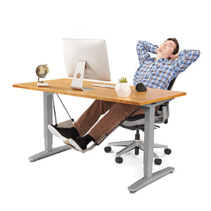 work table computer desk footrests mini portable comfortable relaxing leg hammock adjustable office footrest foot hammock(China)