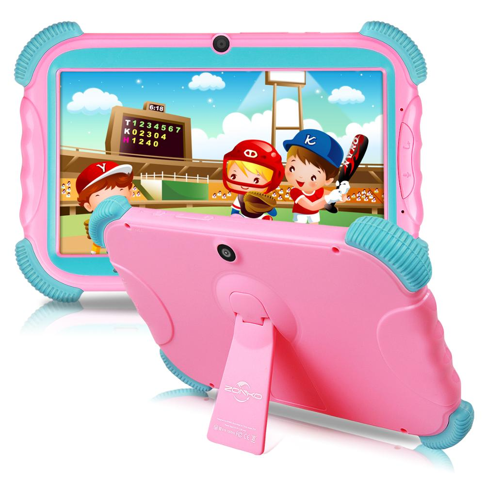 Tablet 7 Inch Android 8.1 Kids 16GB Babypad Edition PC With Wifi And Camera GMS Certified Supported Kids-Proof Case Stand