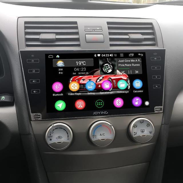 """9 """"Android10 Radio samochodowe Stereo dla Toyota Camry 2007 2008 2009 2010 2011 DSP GPS SPDIF Carplay 5GWiFi Subwoofer wyjście optyczne"""