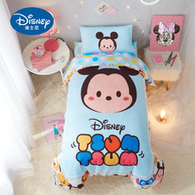 100% Cotton Baby cot Children Bedding Sets Soft Disney Minnie Mickey mous duvet cover pillowcase sheet Quilt Cover  60x120cm