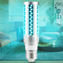 High LED UV Light Ultraviolet Lamp 15/20W Corn Bulb for Home Bedroom Travel Office Cleaning LG66