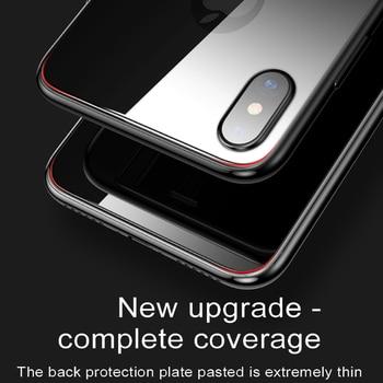 Baseus 0,3mm защитная плёнка для iPhone XS Max XR X  6